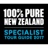 100% Pure New Zealand - Specialist Tour Guide